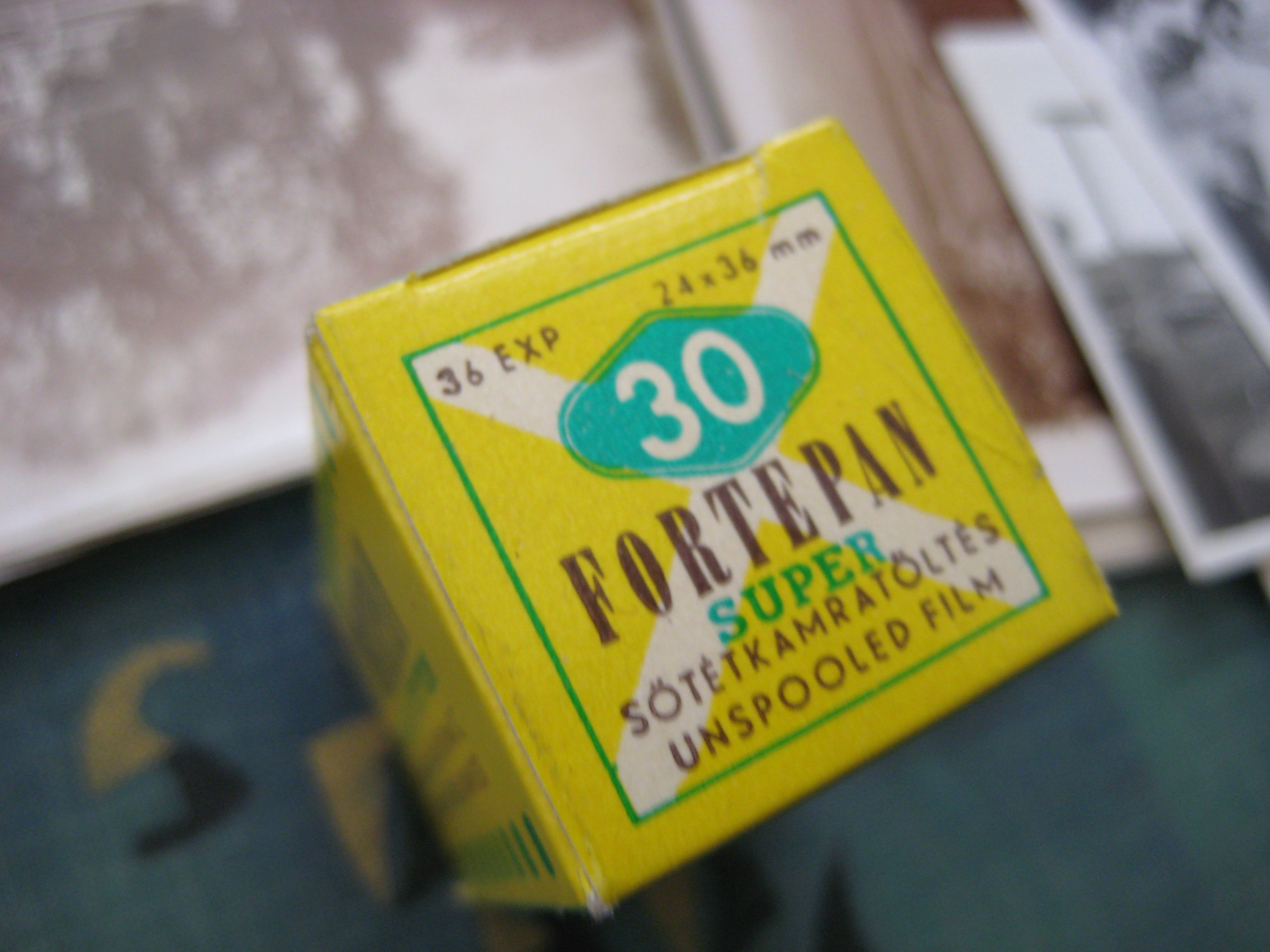 Fortepan film, product of Forte factory
