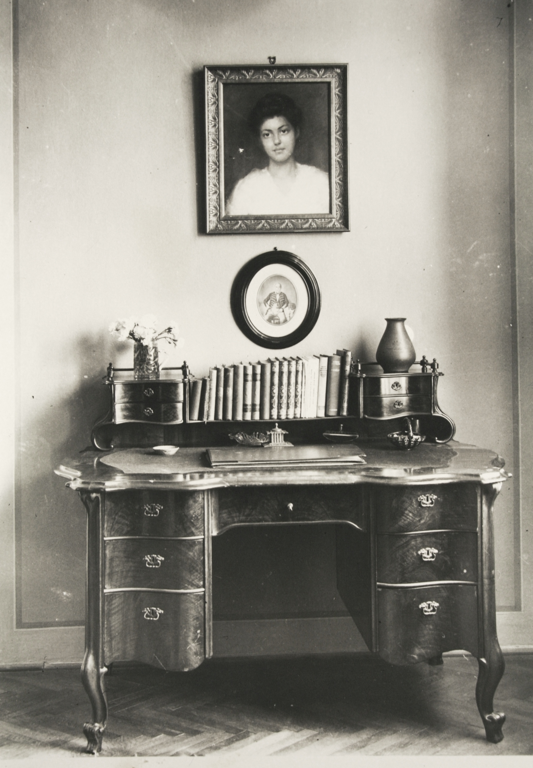 Writing desk of István Bibó Sr. Szeged, 1910s