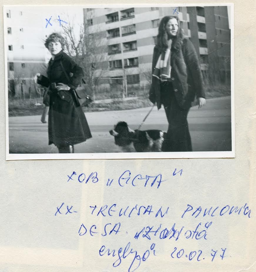 Surveillance of Goma's wife meeting with a foreign journalist, 20 February 1977