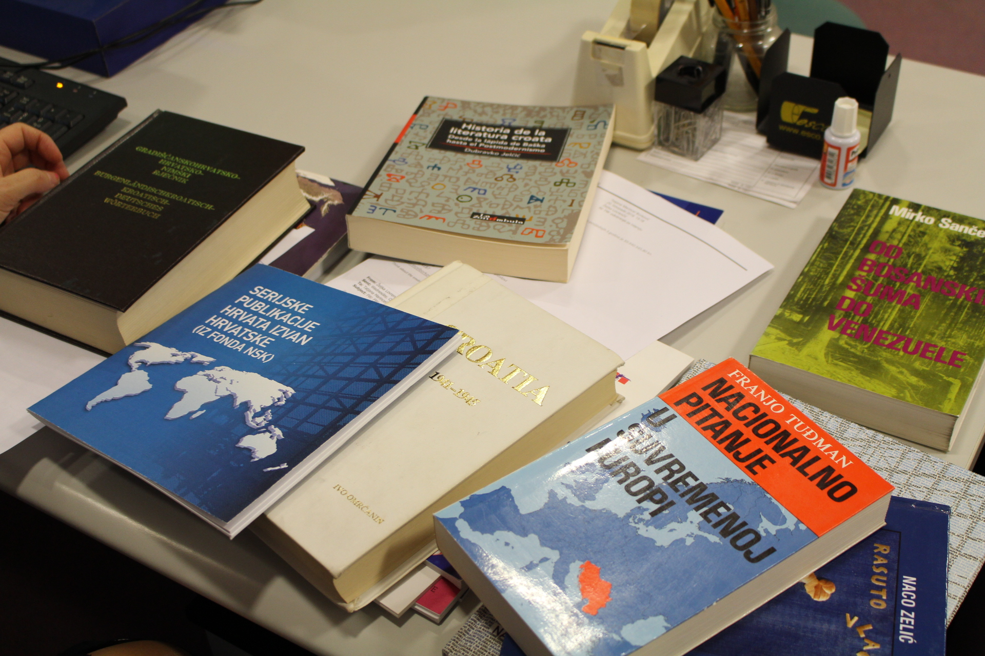 Books from the Foreign Croatica Collection