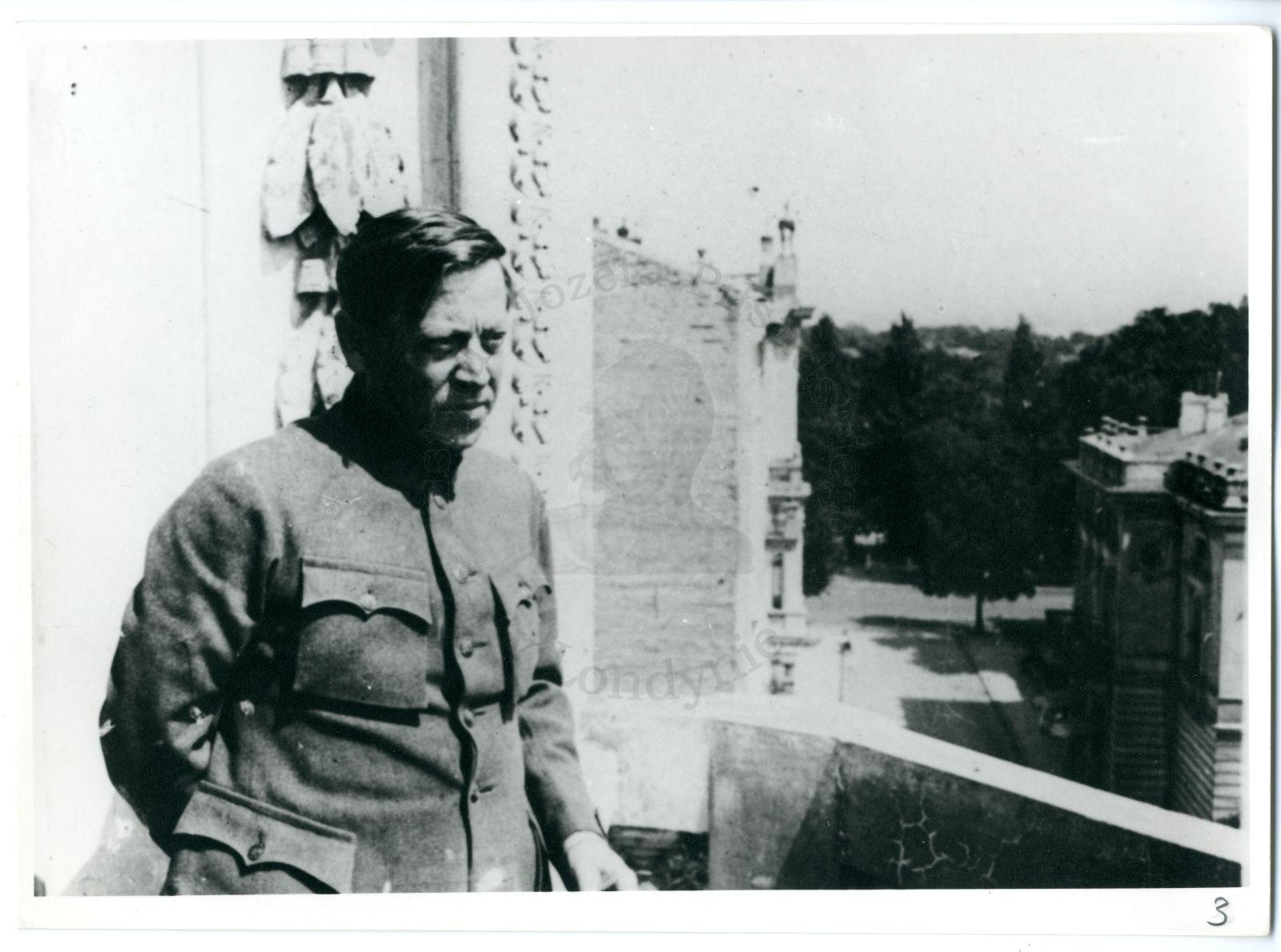 Symon Petliura in Warsaw