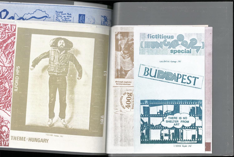 inside  of Commonpress 51 (Hungary issue), Artpool, 1984–1989