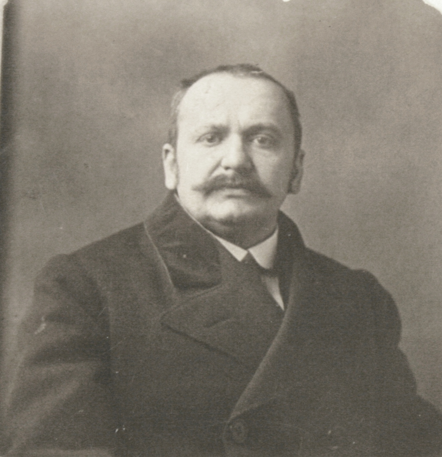 István Bibó's father: István Bibó Sr., director of the University Library Szeged, 1910s