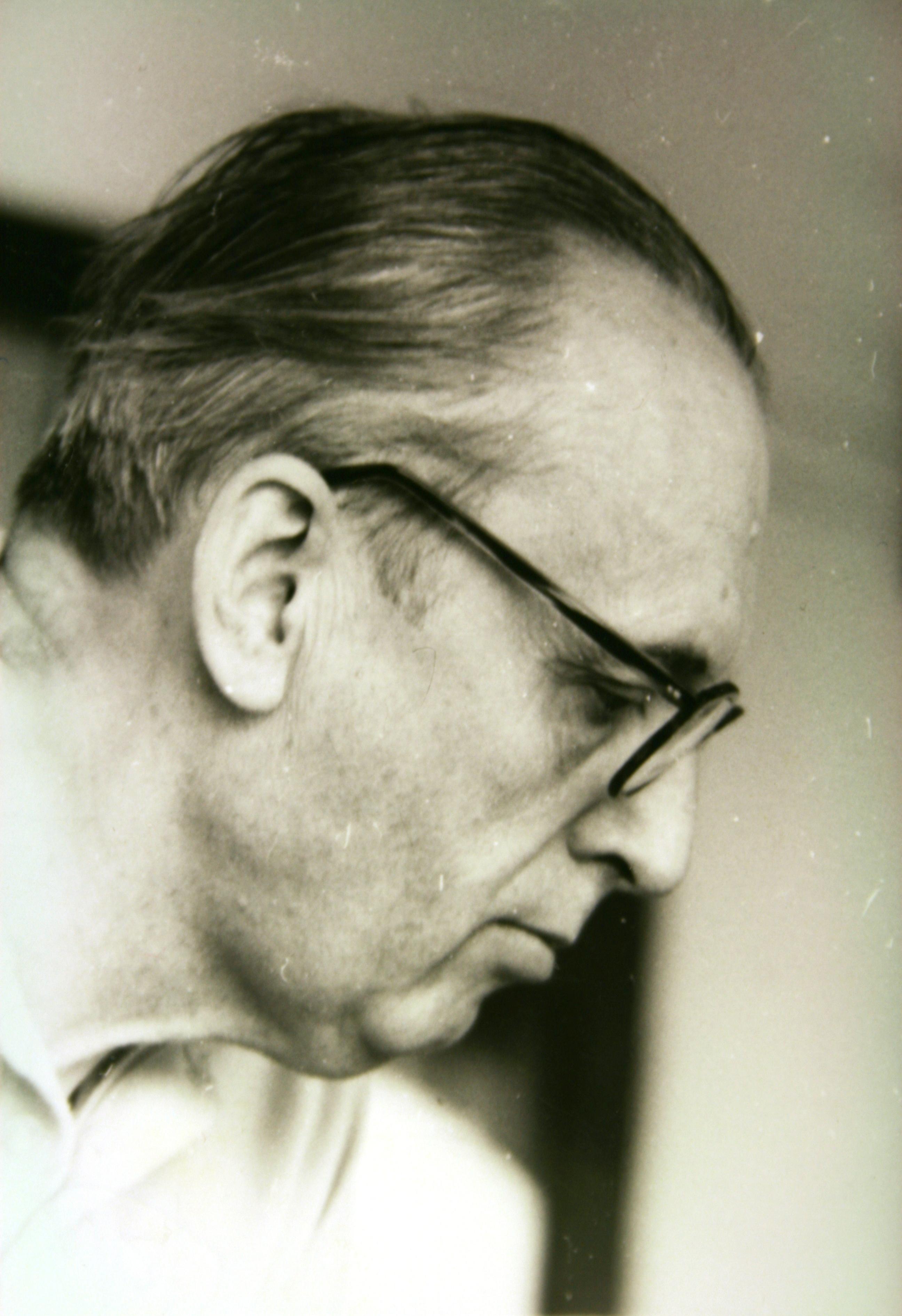Portrait of István Bibó, 1970