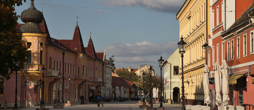 Streets of Vinkovci.