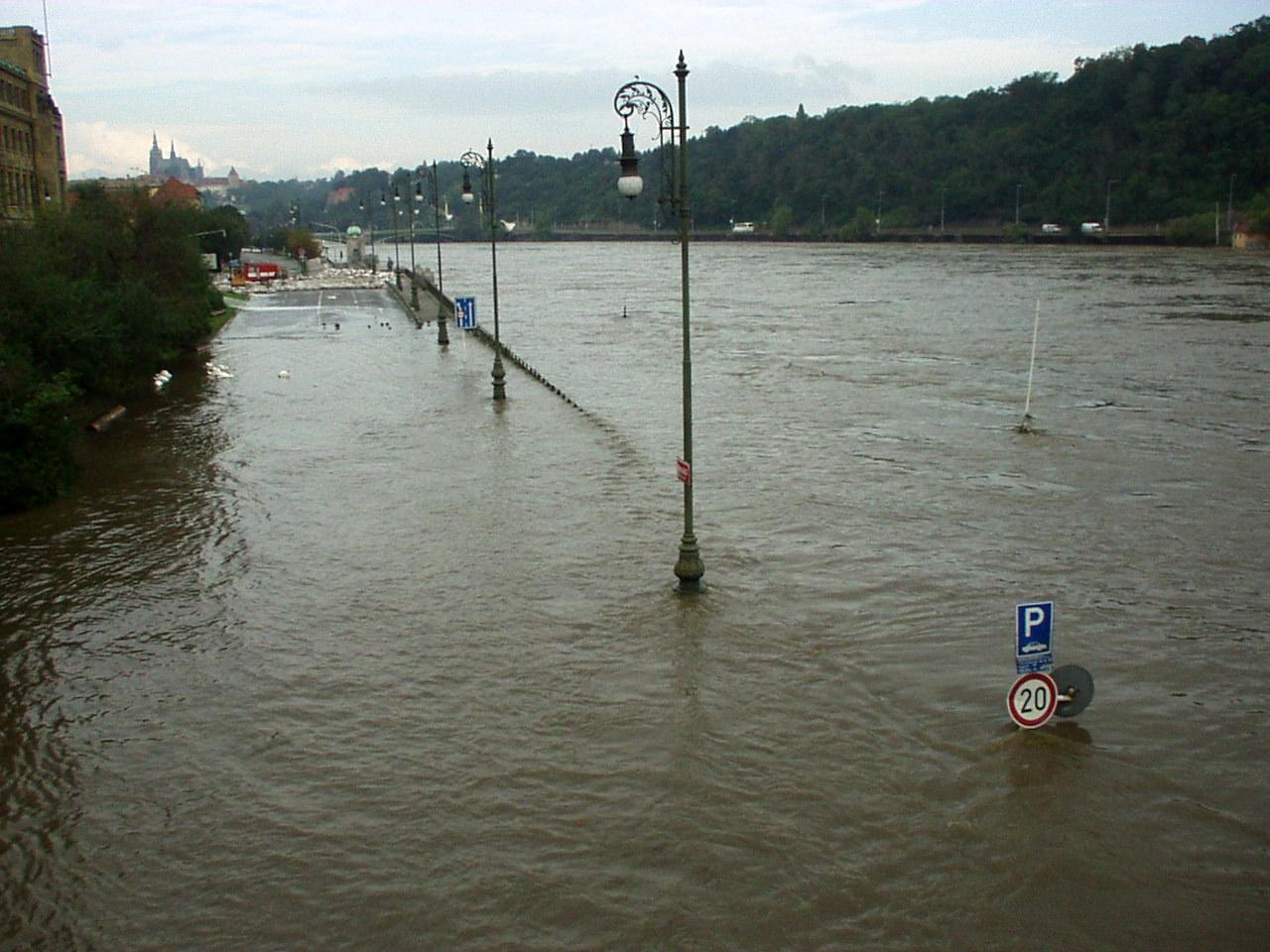 Flood in Prague in 2002