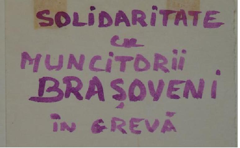 Copy of the manifesto spread by Doina Cornea and Leontin Horaţiu Iuhas in the city of Cluj in November 1987