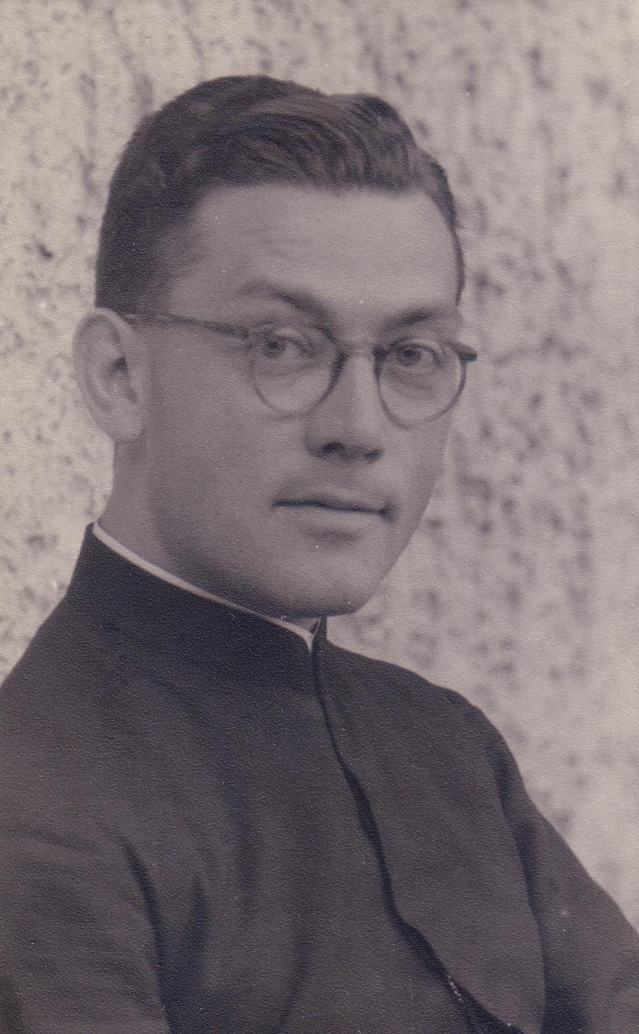 Portrait of György Bulányi, 1952.