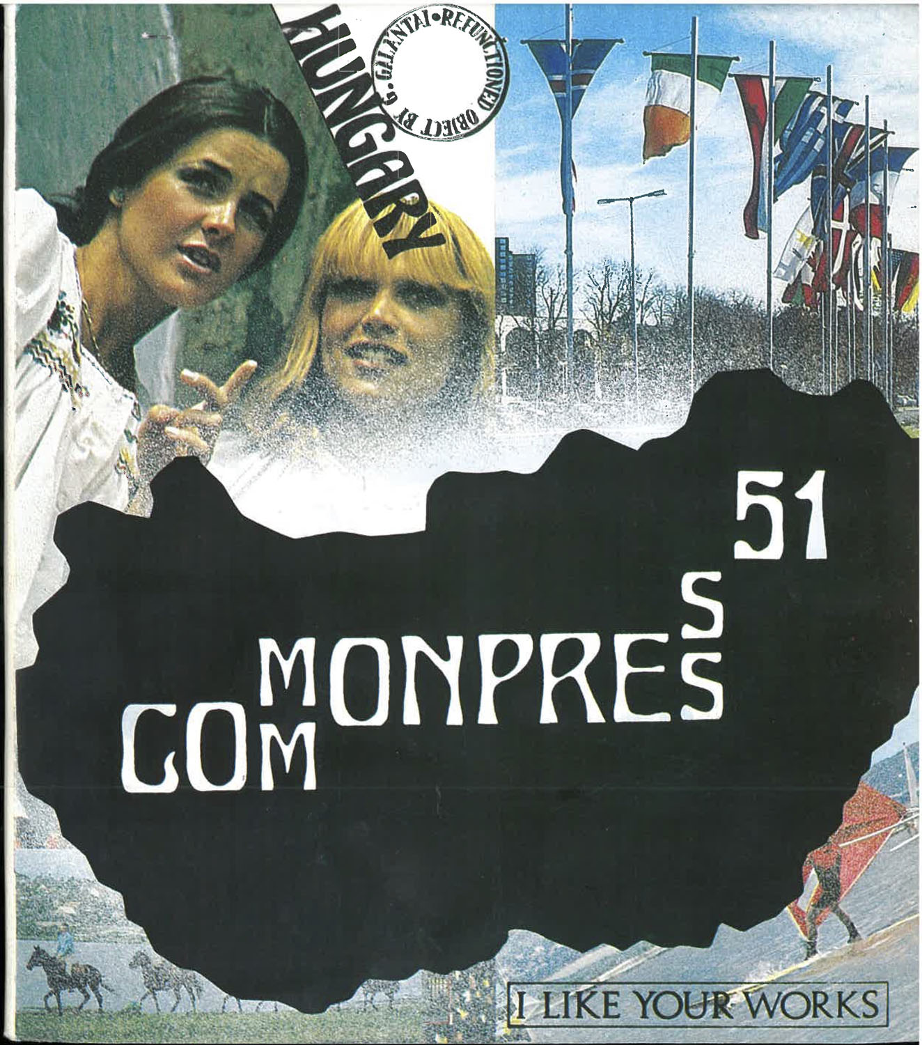 Cover  of Commonpress 51 (Hungary issue), 1984–1989