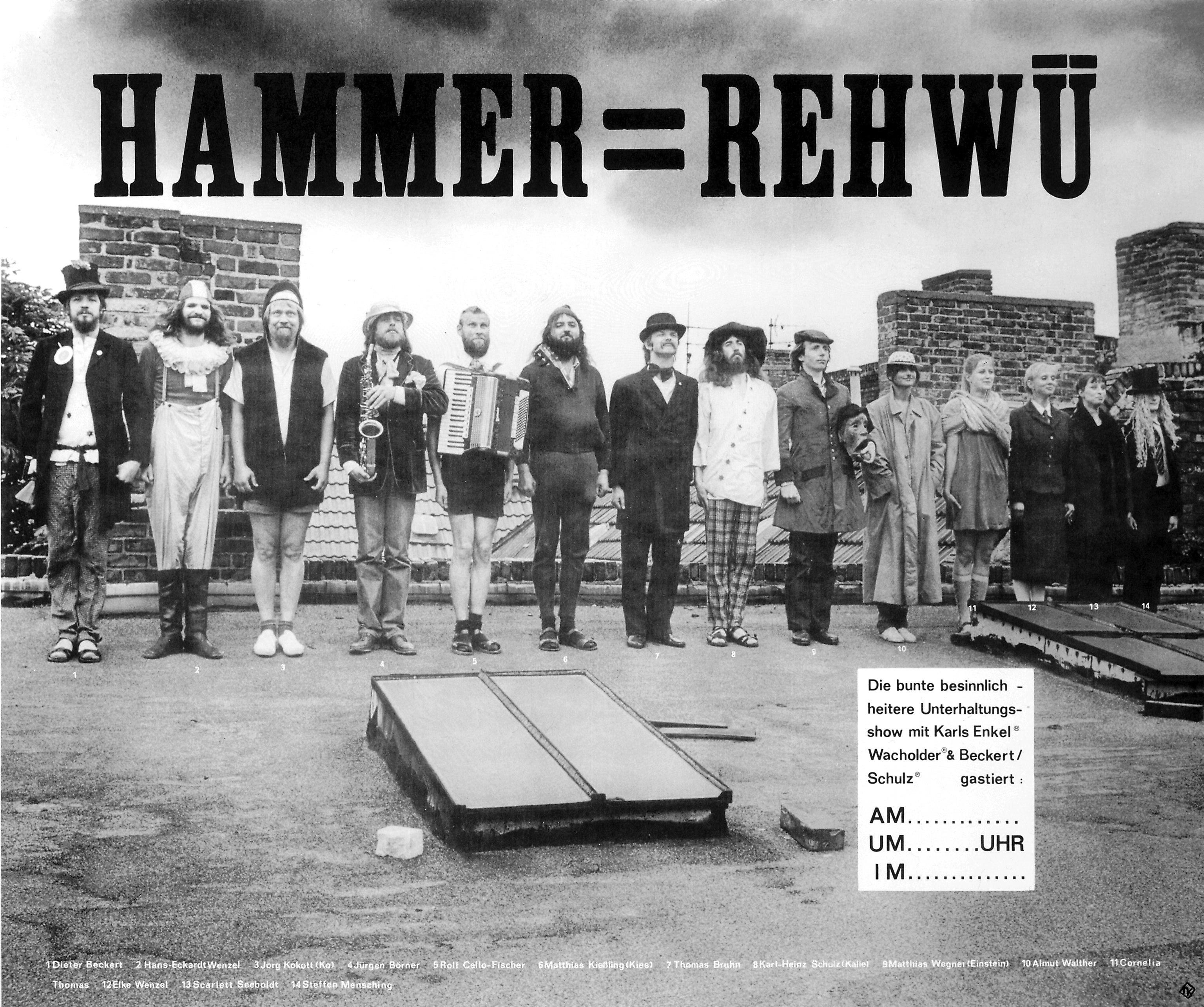 Poster for 'Hammer-Rehwü', 1982