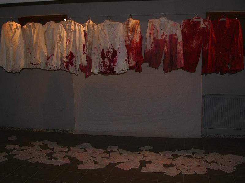 Imre Baász: The Born of a Myth, installation, 1981