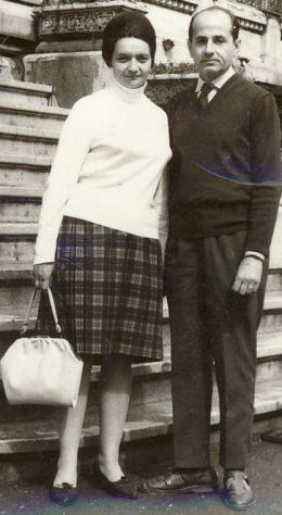 Aristina Pop-Săileanu and her husband Nicolae Săileanu in 1968