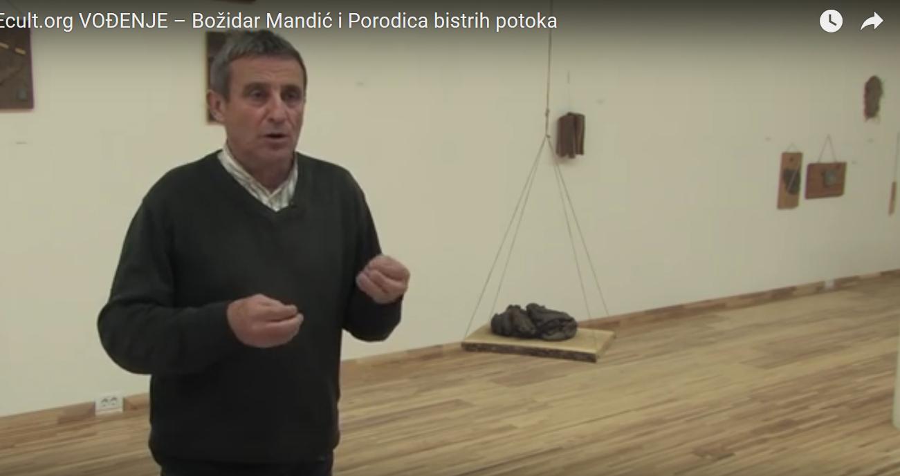 Screenshot: Božidar Mandić at The Museum of Contemporary Art Vojvodina, Novi Sad