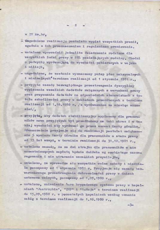Jastrzębie-Zdrój Agreement