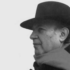 Hungarian Nober Prize winner novelist Imre Kertész