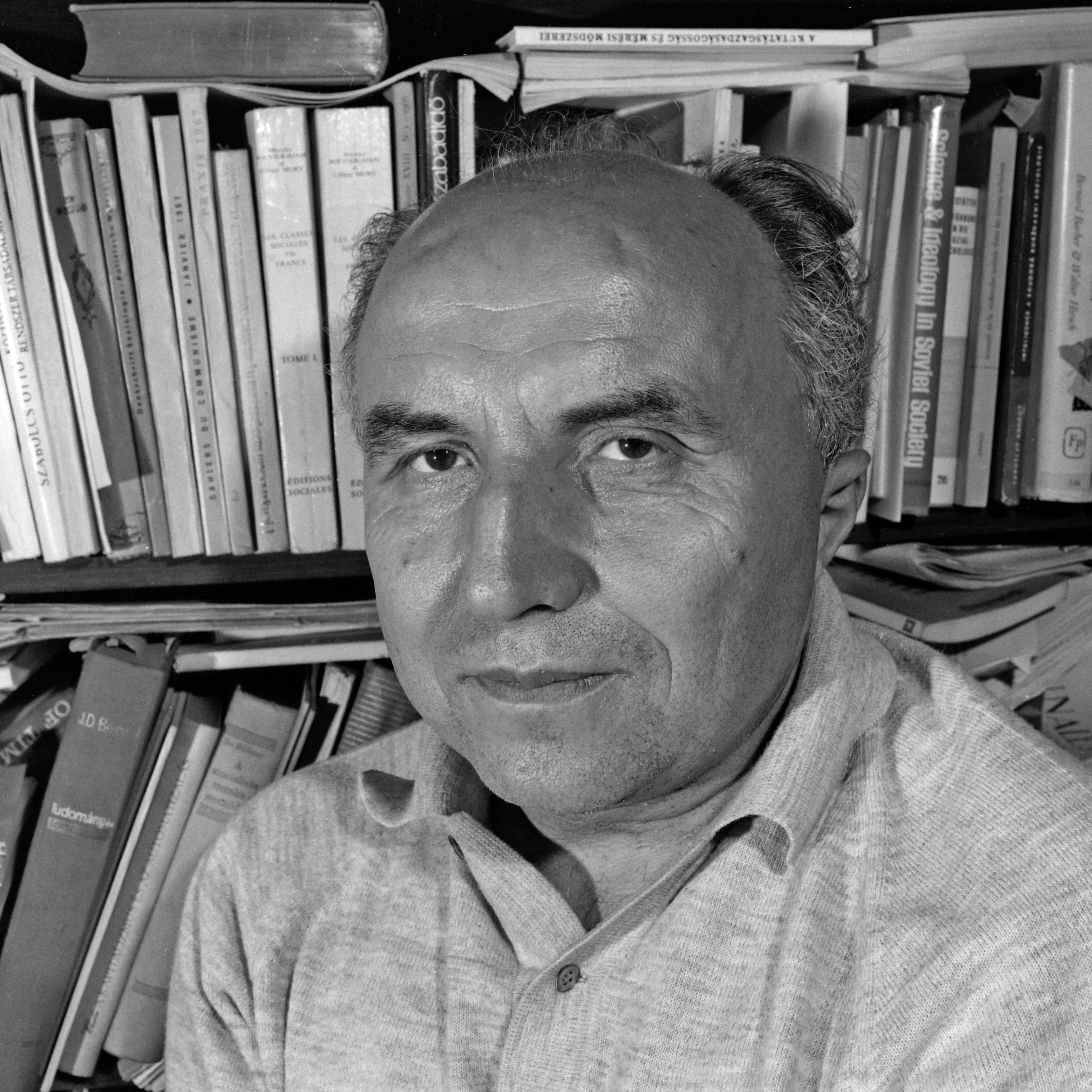 András Hegedűs sociologist, 1969.