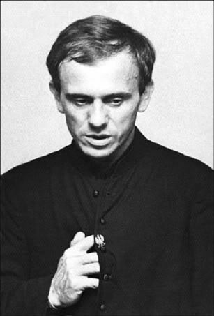Photo of Reverend Jerzy Popiełuszko by Erazm Ciołek