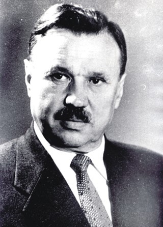 Antanas Sniečkus (1903 – 1974), the first secretary of Lithuanian Communist Party.