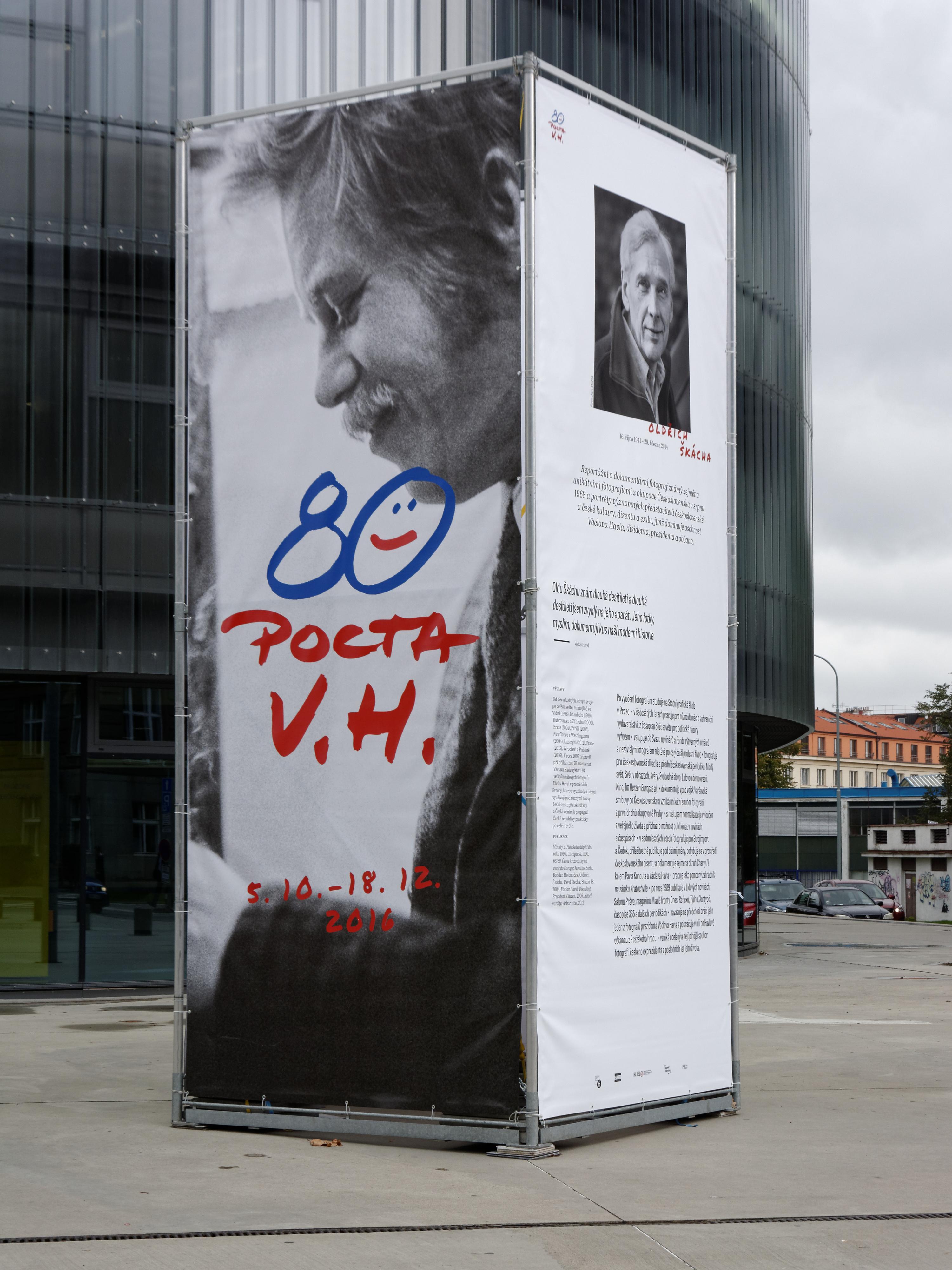 Exhibition 'Pocta V. H.' (2016)