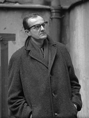Portrait of Vladimír Boudník by Karel Kuklík, 1960s