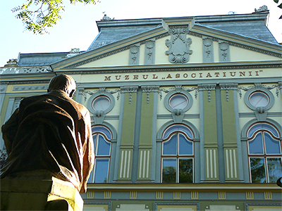 ASTRA Sibiu County Library Historical Building