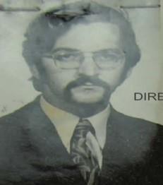 Photo of Attila Ara-Kovács from the Securitate files