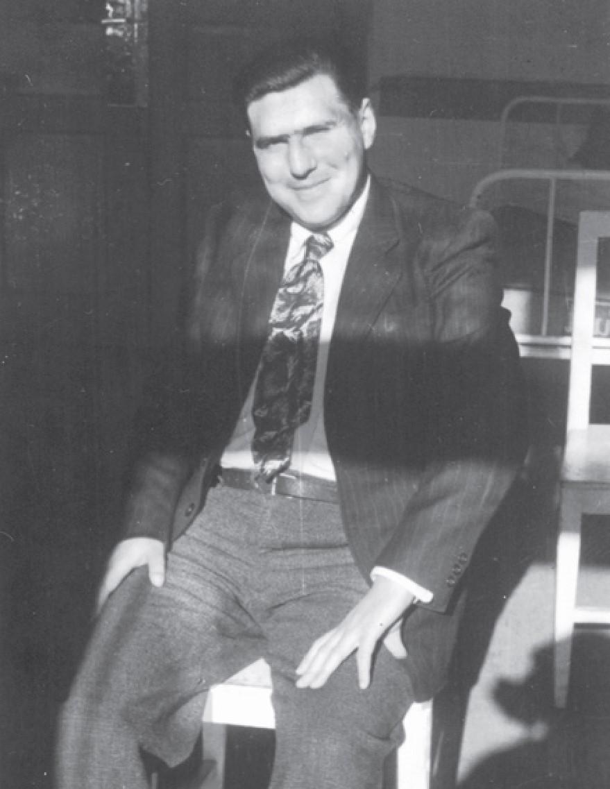 Historian Jere Jareb in Klagenfurt (1949)
