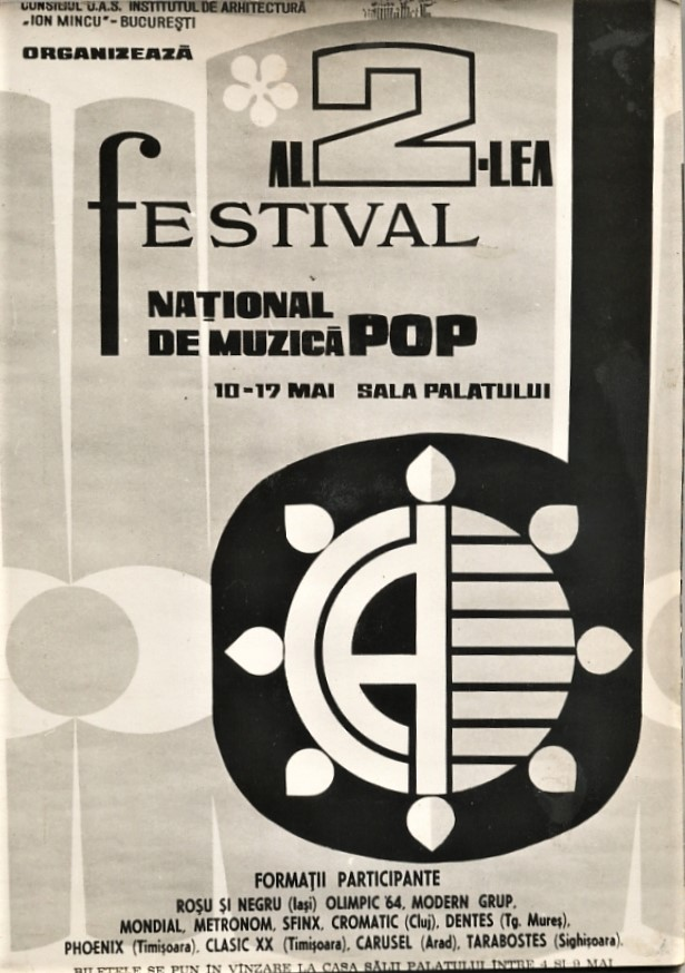 Poster of the Second Festival of Club A, 1971