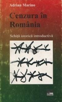 Book cover of Censorship in Romania by Adrian Marino