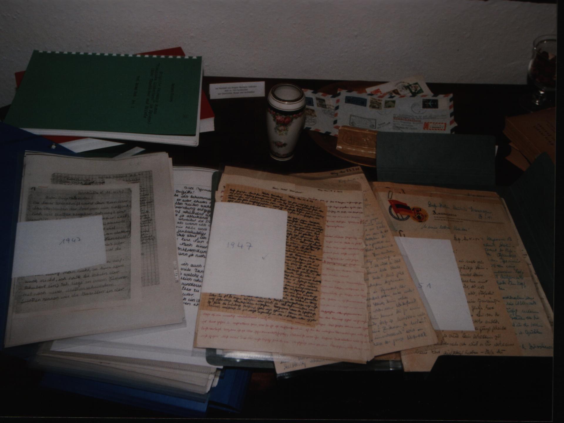 Briefe aus dem Nachlass Brigitte Reimanns