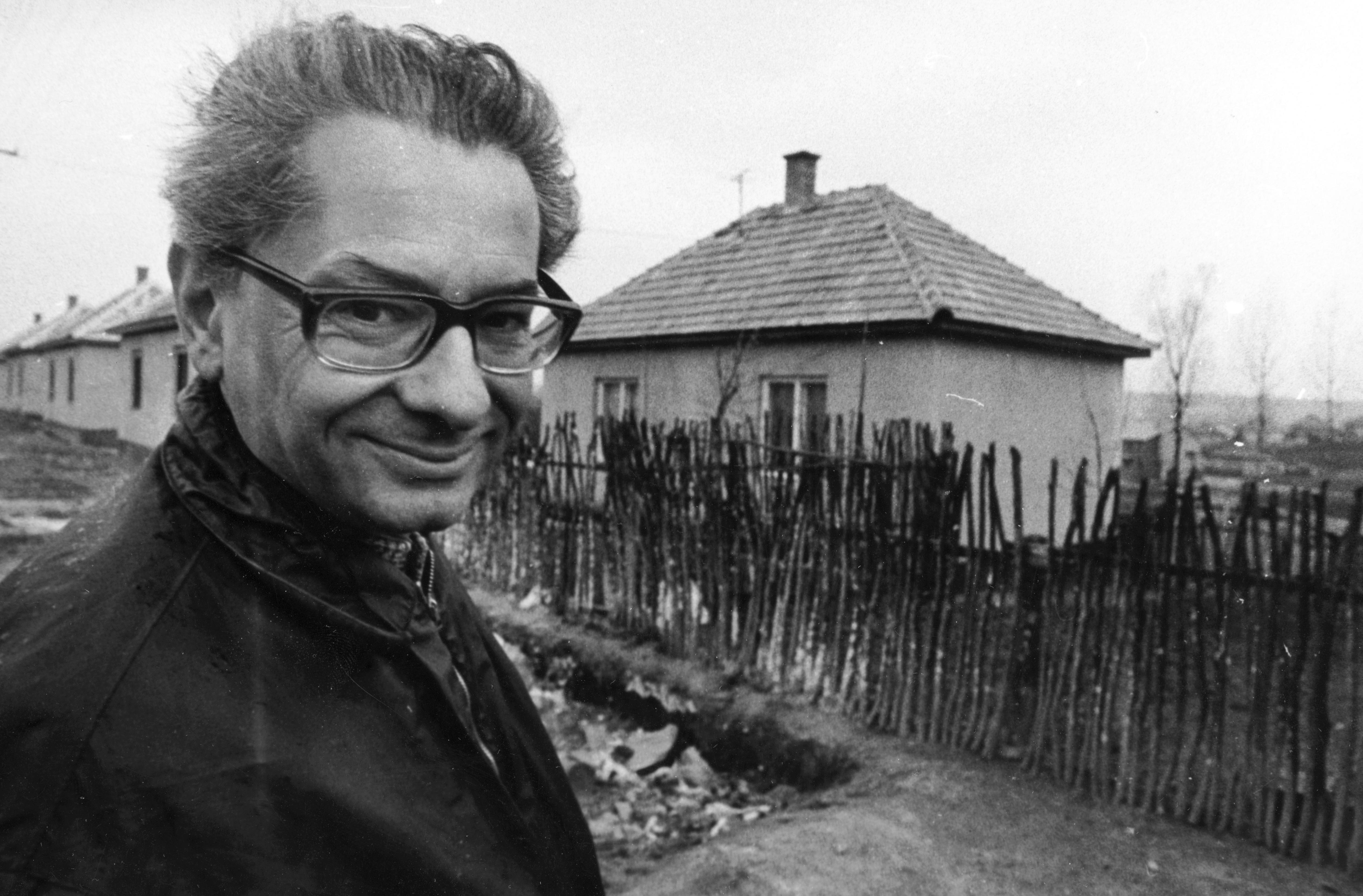 Kemény István szociológus, 1972.