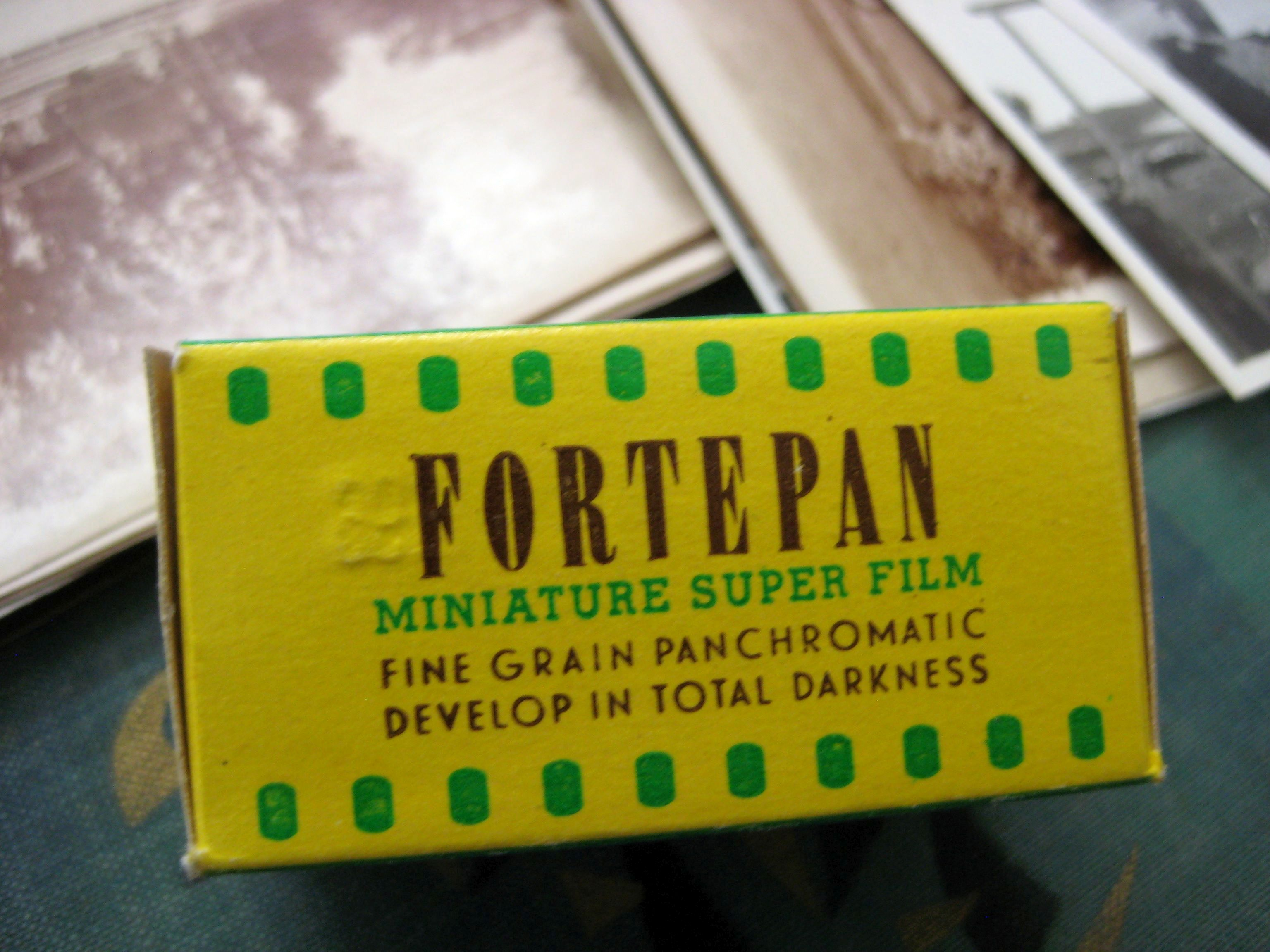 Fortepan film by Forte that the collection was named after. Photo: Tamás Scheibner