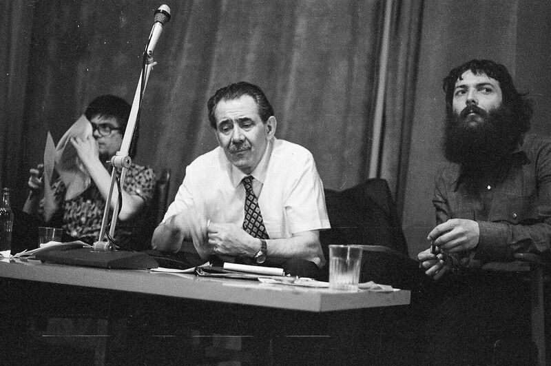György Aczél cultural politician was the lecturer in the Polvax club in 27th of April 1978.