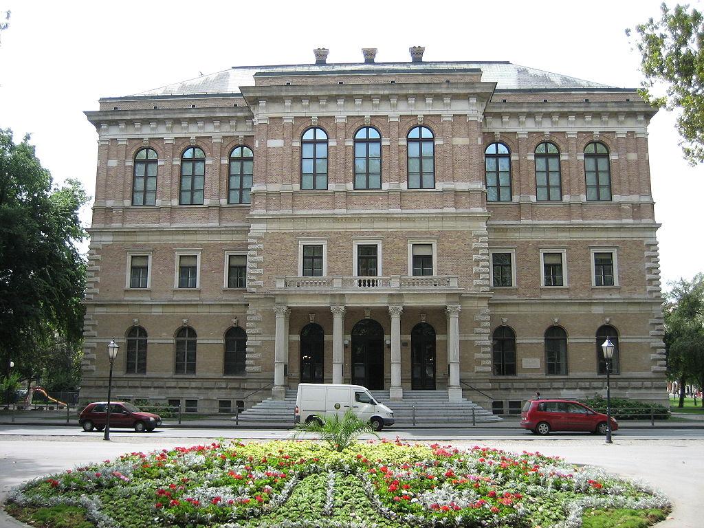 The building of Croatian Academy of Sciences and Arts, Zagreb / Zgrada Hrvatske akademije znanosti i umjetnosti, Zagreb (photo by: Darko Tepert)