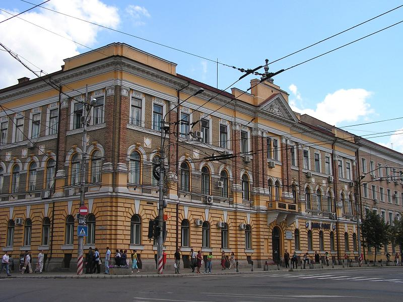 The former EMKE Palace, today Railway Headquarter in Cluj-Napoca, 2005.