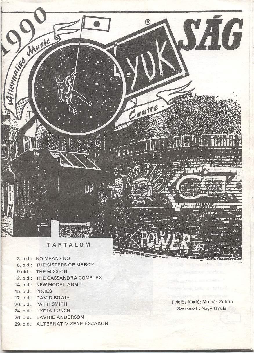 Lyukság, 1988. Fanzine