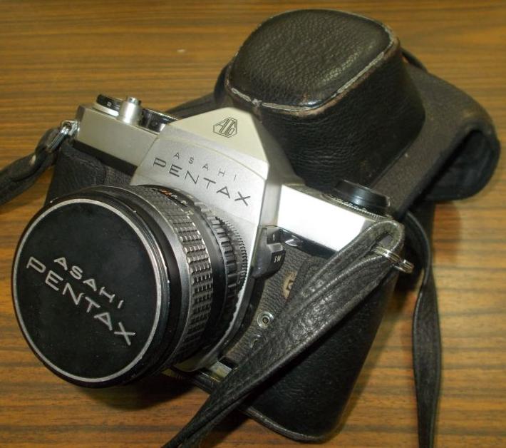 Alexandru Barnea's Asahi Pentax camera