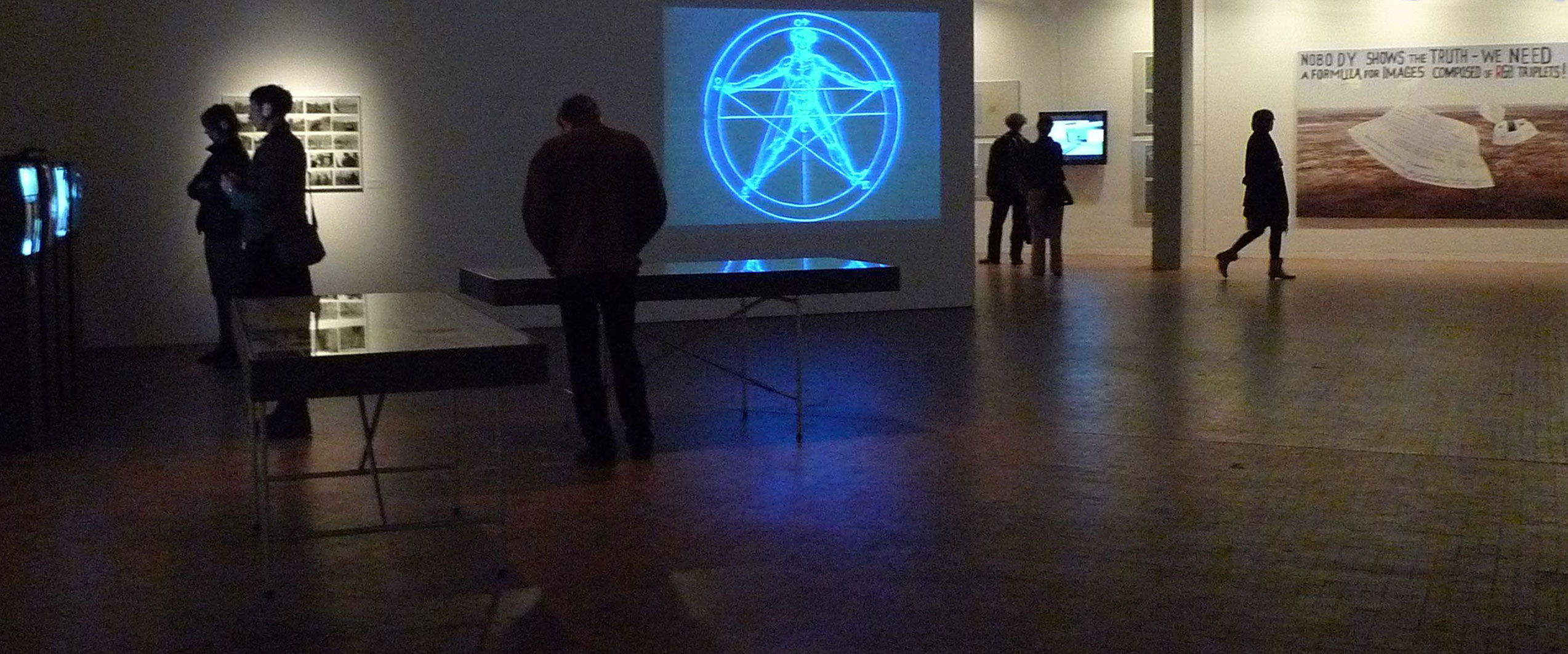 Installation view of the exhibition in Berlin
