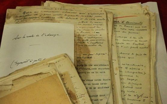 Emil Cioran's manuscripts and letters at ASTRA Sibiu County Library