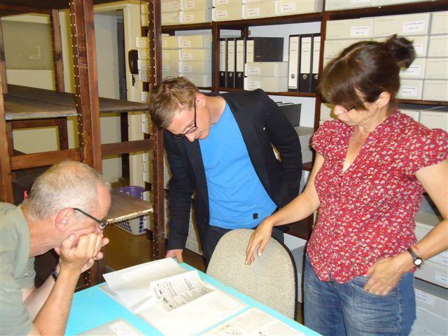 Archivführung im Archiv der DDR-Opposition