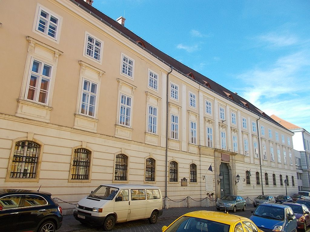 Former building of the Sociological Institute of the Hungarian Academy of Sciences, 2016.