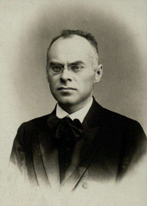 Lithuanian lawyer and historian Augustinas Janulaitis (1878 – 1950).