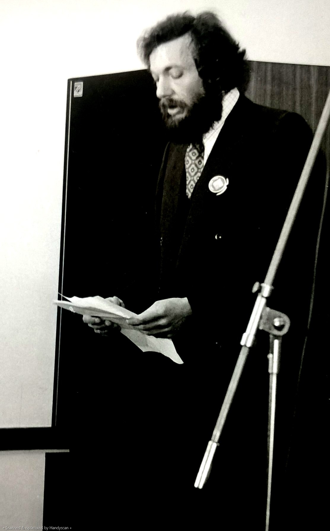 Srđan Hofman (early 1980s)