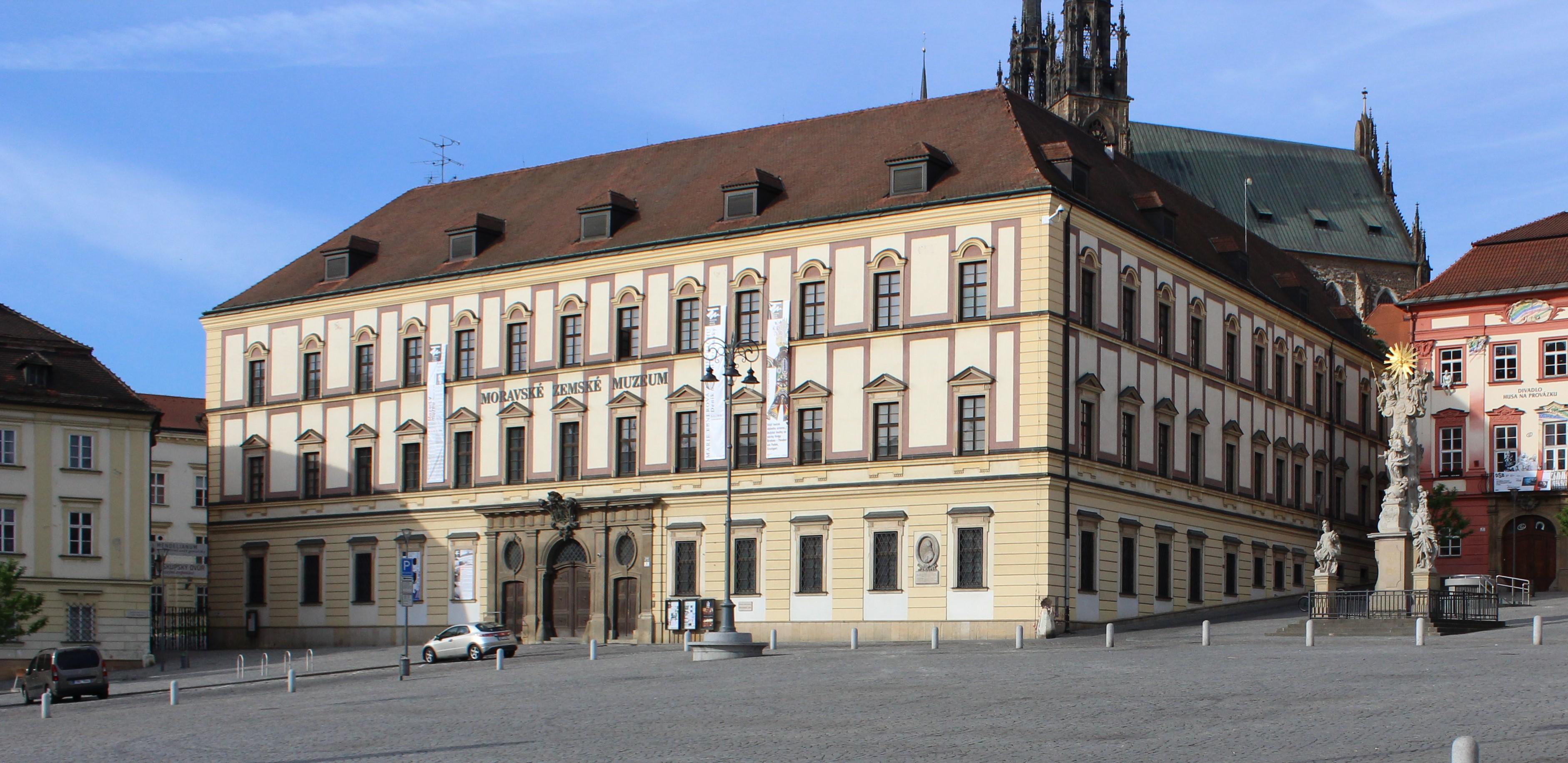 Moravian Museum - Palais prince of Dietrichstein, Brno, 2016.