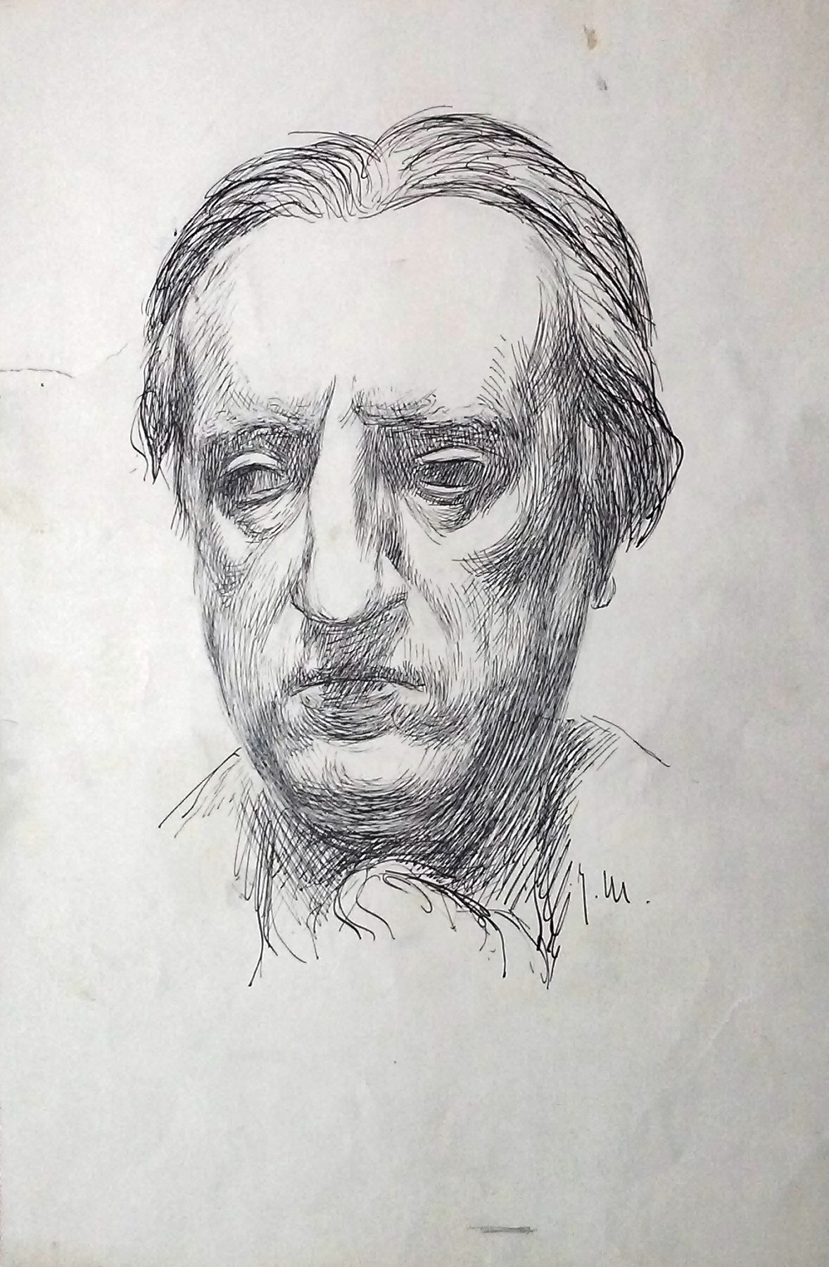 Portrait of Zvonimir Kulundžić (author unknown).