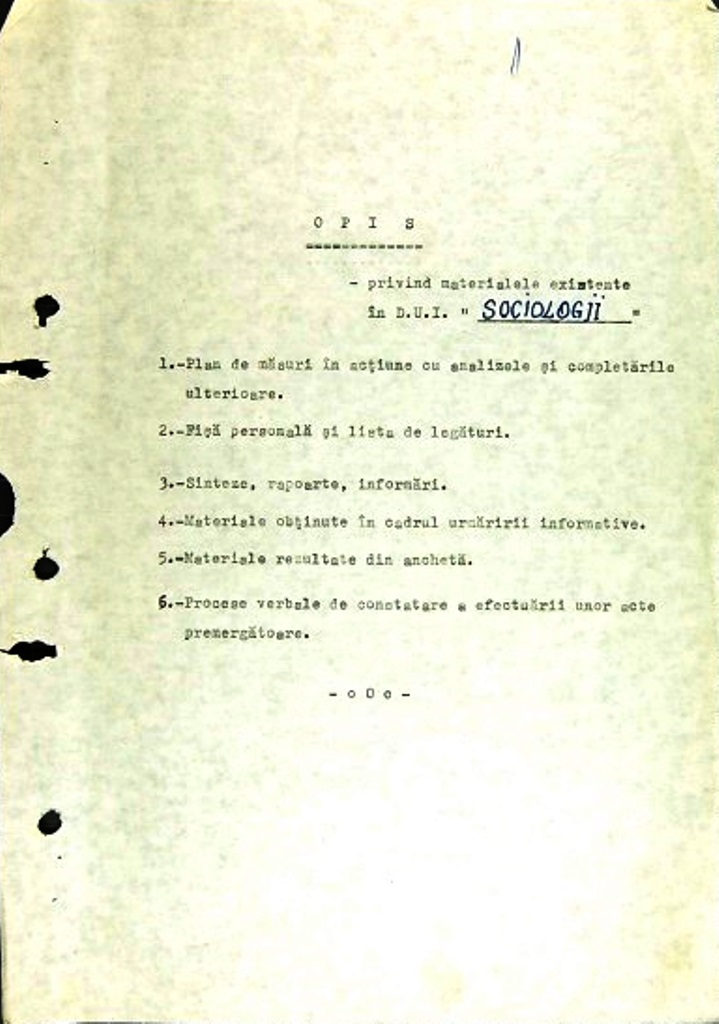 Surveillance files of Sándor Balázs