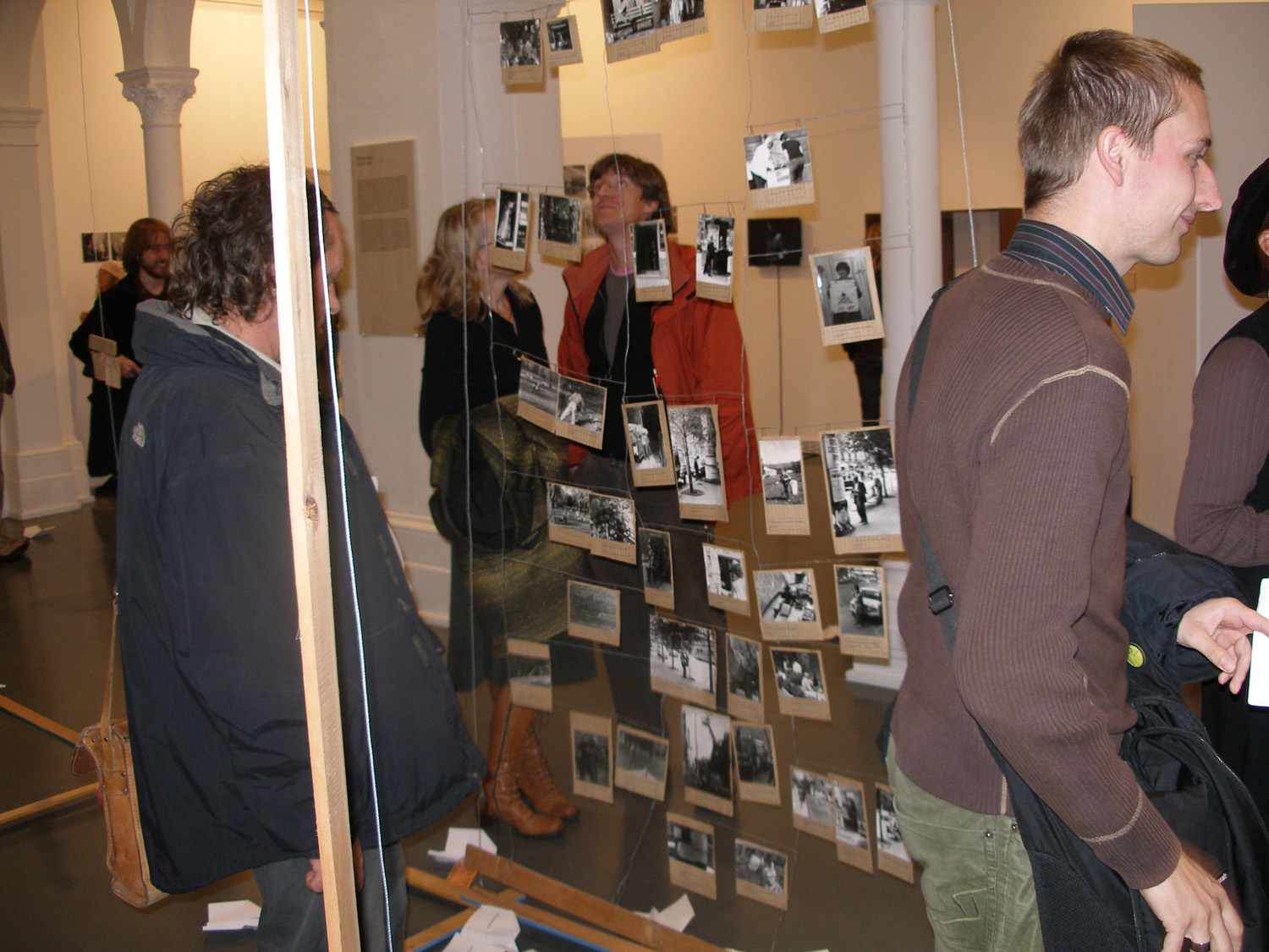 View of the reconstructed Poipoidrom at the opening of the exhibition Fluxus East, Künstlerhaus Bethanien, Berlin, 2007