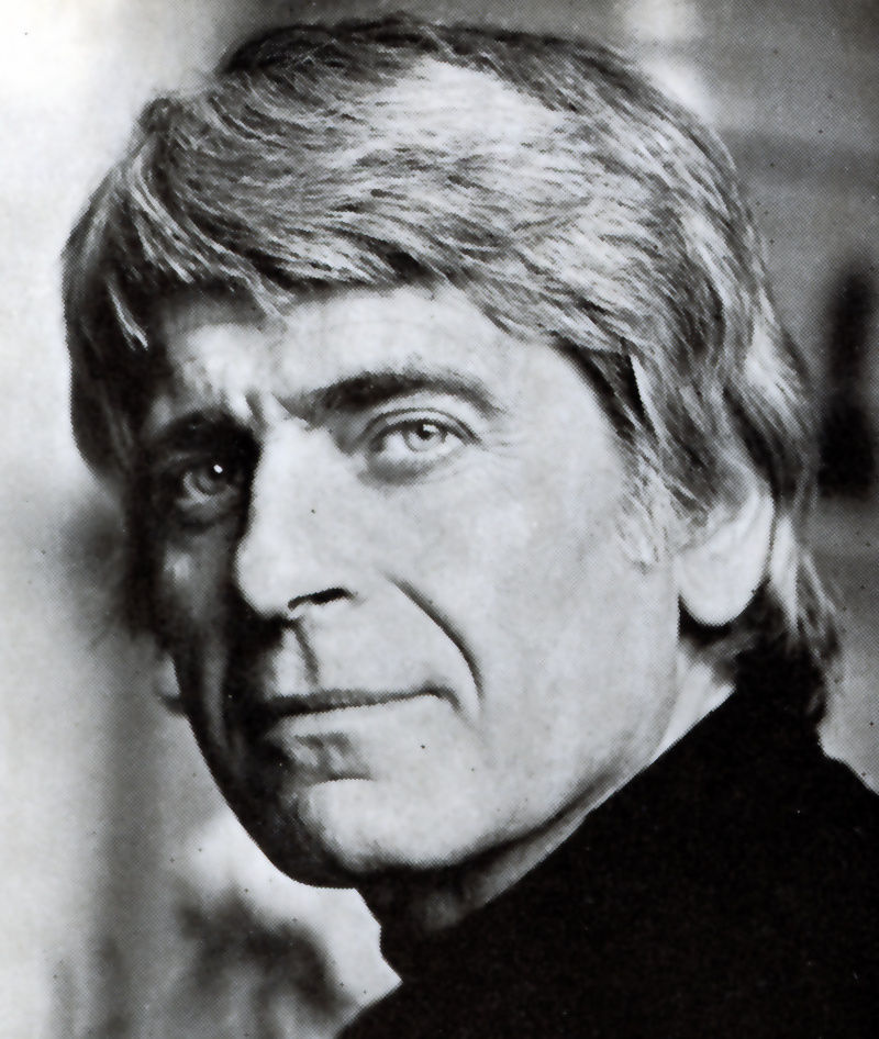 writer Miklós Mészöly, Budapest 1977