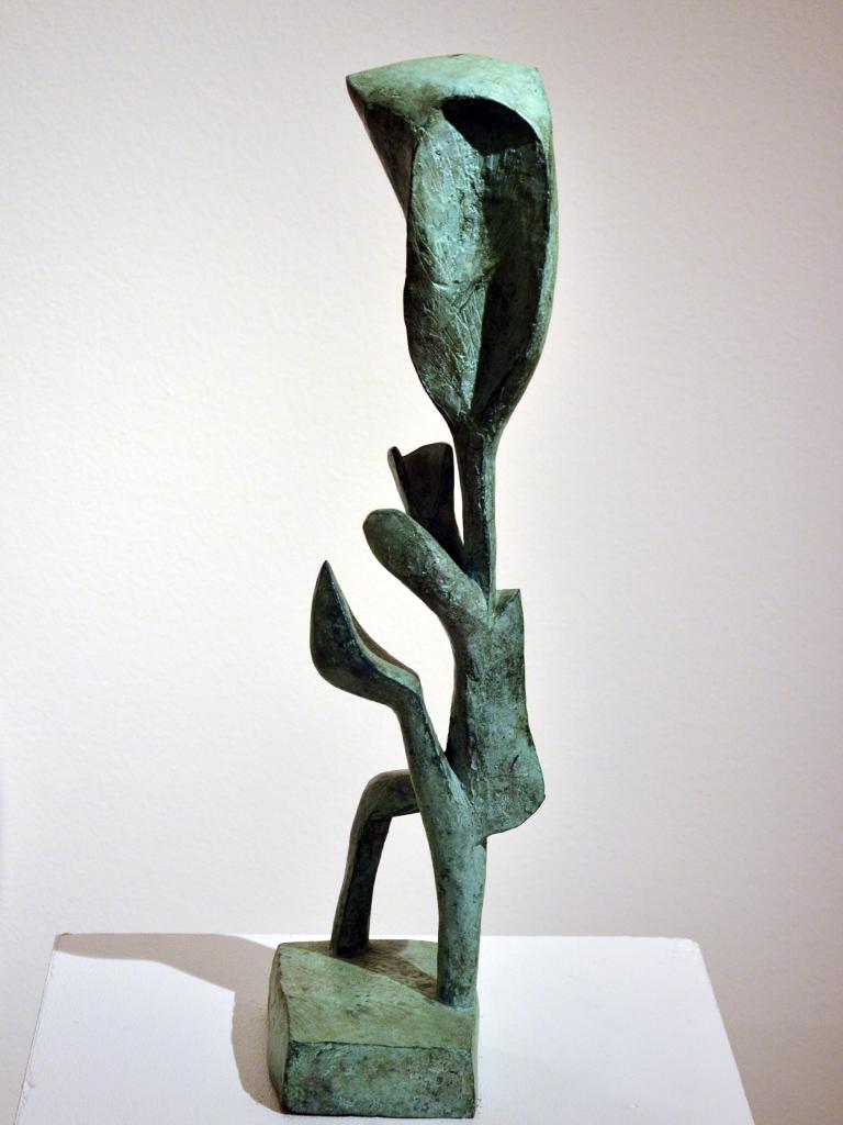 Panáček modrý květ, 1957, soukromá sbírka