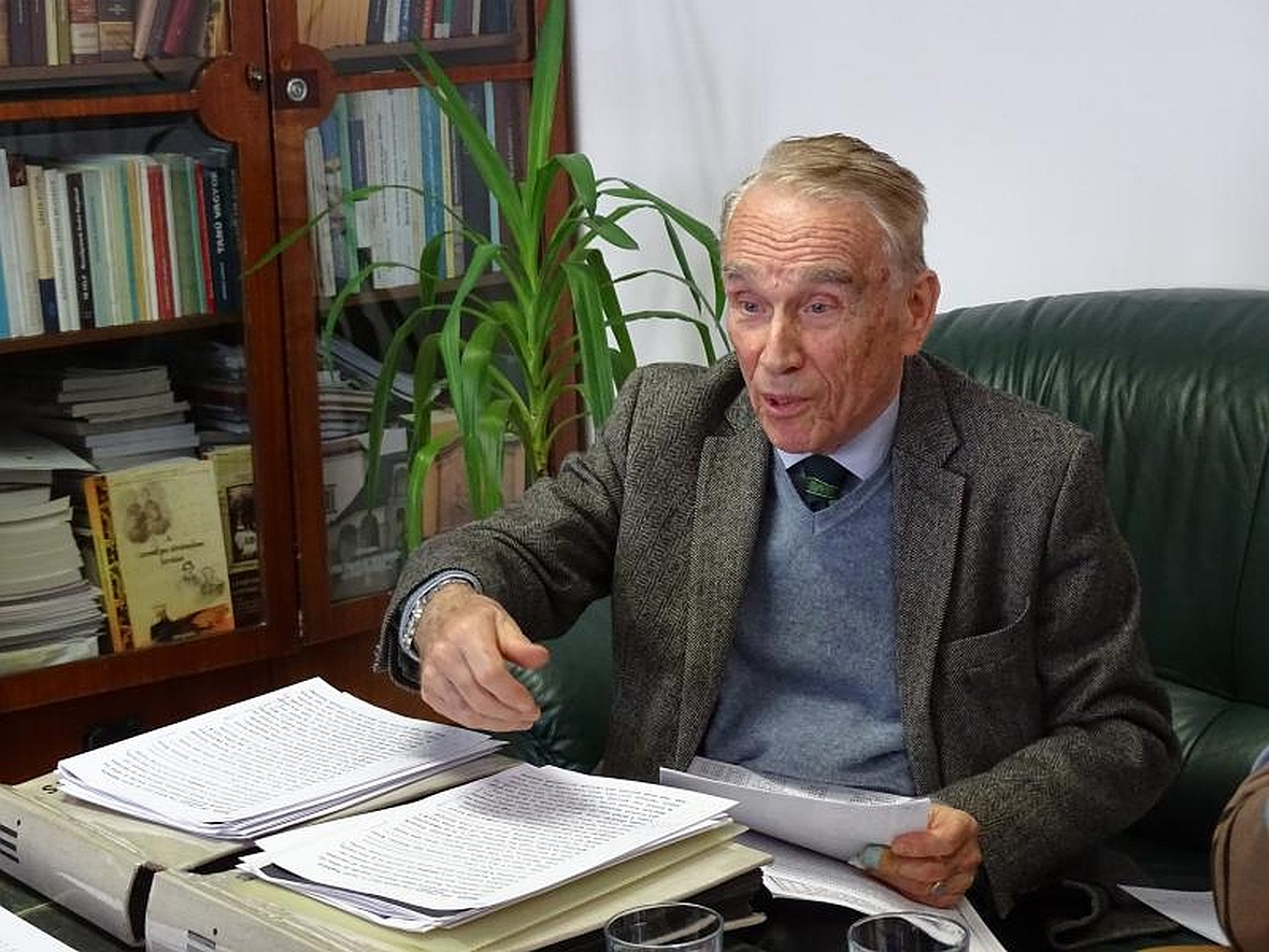 Founder of UFHS collection Varallyay, Gyula 2017